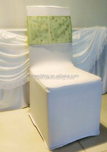 customize organza banquet chair sashes/satin sashes fashionable/cheap chair sashes wholesale
