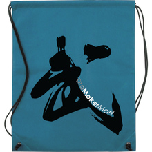 Drawstring Promotional Bags, Thicken PE Sample free Nonwoven Drawstring Promotional Bags with Sewing Edges, Promotional Bag