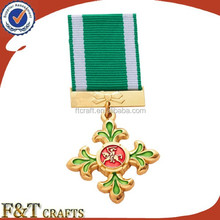 gold plated commemorative cold war medal 2013
