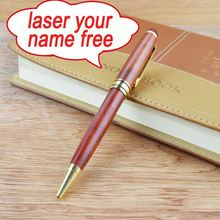 BP0001 fancy wood pen advertising banner pen heavy wooden pens
