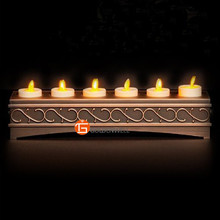 Flameless LED Tea Candle for Religious Activities with Charger