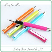 2015 customized pens for promotional blue high quality roller pen black and blue gel pen