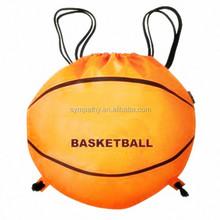 new design high quality Drawstring Bag as a basketball