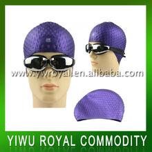 Custom Water Practical Silicone Bubble Swim Cap