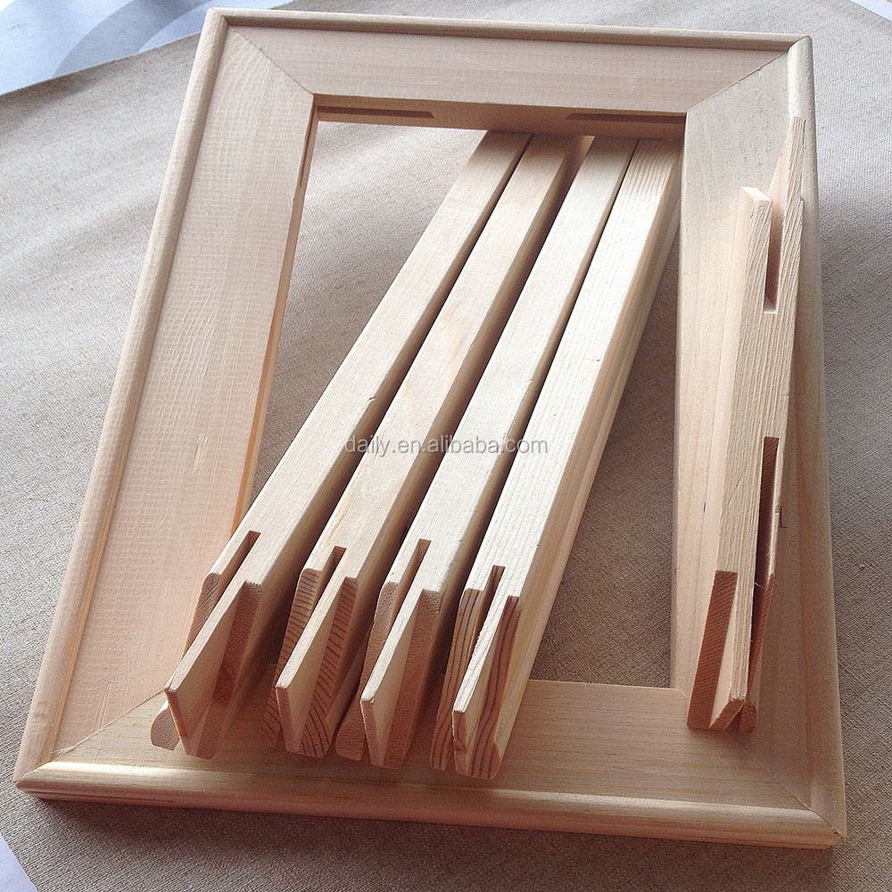 Painting Artist Triangle Stretched Canvas On Stretcher Bars - Buy ...