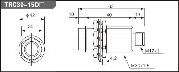 detection sensor frcm30