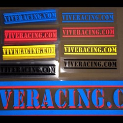 Racing Die Cut motorcycle stickers window decals Made of Reflective Vinyl
