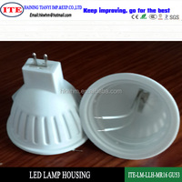 MR16 Gu53 led lamp plastic housing and parts