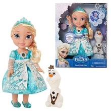 Frozen snow glow doll