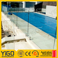 frameless glass fence for sale rectangular above ground swimming pool
