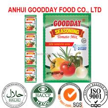 100gram tomato seasoning/soup/bouillon powder hot selling in Nigeria