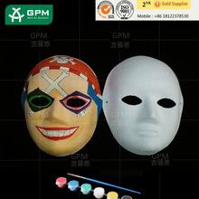 DIY Designs White Paper Face Mask For Children