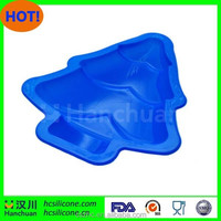 Wholesale Christmas tree shape silicone bakeware,silicone cake mould
