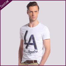Wholesale high quality t-shirt /Led t shirt/Latest shirt designs for men