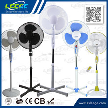 FS40-3 GS CE ROHS OEM high quality motor 45W cooling 16 inch cheap pedestal stand fan