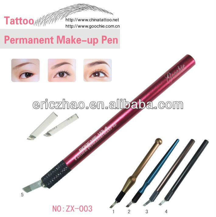 Metal material eyebrow microblading tattoo pen for for Eyebrow tattoo pen