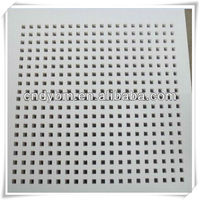 12mm Round Hole Perforated Gypsum Board/plasterboards