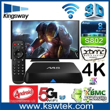 Professional tech! 8gb flash rom 2GB DDR3 with remote controller internet sex video google m8 tv box free android download googl
