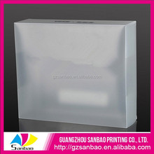 Customized Cheap Recycled Flexible Wholesale Plastic Clear Shoe Box