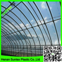 High quality agriculture pe film 100% virgin HDPE blue transparent greenhouse film made in china