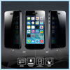 Prevent-peep anti-spy privacy premium tempered glass film screen protector for iPhone 4/4s iPhone 5/5s iPhone 6/6 plus