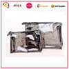 Hot selling pvc makeup bag,clear plastic makeup bag with zipper