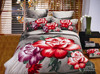 3d follower design patchwork bed sheet
