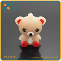 Promotional cartoon character usb flash drive for gift