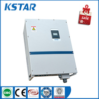 kstar 10kw dc/ac smart grid inverter, three phase 400Vac with dual mppt charger, pure sine wave power inverter