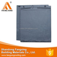 interlocked artificial stone slate roof tile