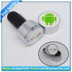 2.1 Amp Dual USB Car Charger for Apple and Android Devices