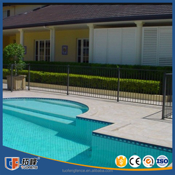 China Supply Bespoke Security Swimming Pool Fencing