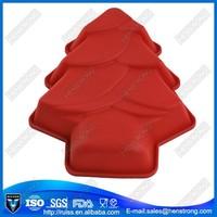 Christmas tree cake molds silicone decorating