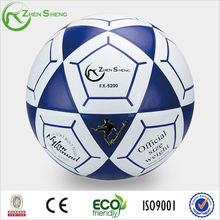 Zhensheng official size and weight soccer ball football ball world cup 2014