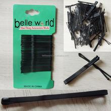 Fábrica de alta qualidade acabamento mate 4.5 cm plana apertos de cabelo Bobby pinos atacado