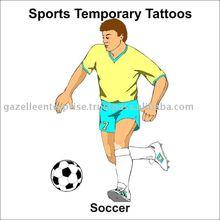 Tattoo Stickers - Football - 0407121015