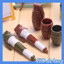 HOGIFT Manufacturer MOQ 60pcs retractable scrolling message pen ,scrolling message pen,Modeling bomb pen