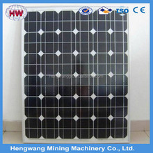 100w Normal specification high efficiency mono or poly solar panel
