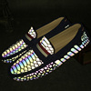 3M reflective upper material men drving urban style flat china shoes