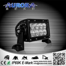 Nice and cute AURORA 4inch double row 40w led headlight