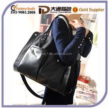 Best Selling Tote Korean Style Lady Handbag For Travelling Messenger Canvas Shoulder Women Mummy Diaper Bag