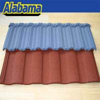 Environmental Protection oem sand coated metal roofing tiles, outdoor waterproof roofing material