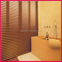 heavy-duty bathroom PVC faux wood waterproof window blinds tape for venetian blinds
