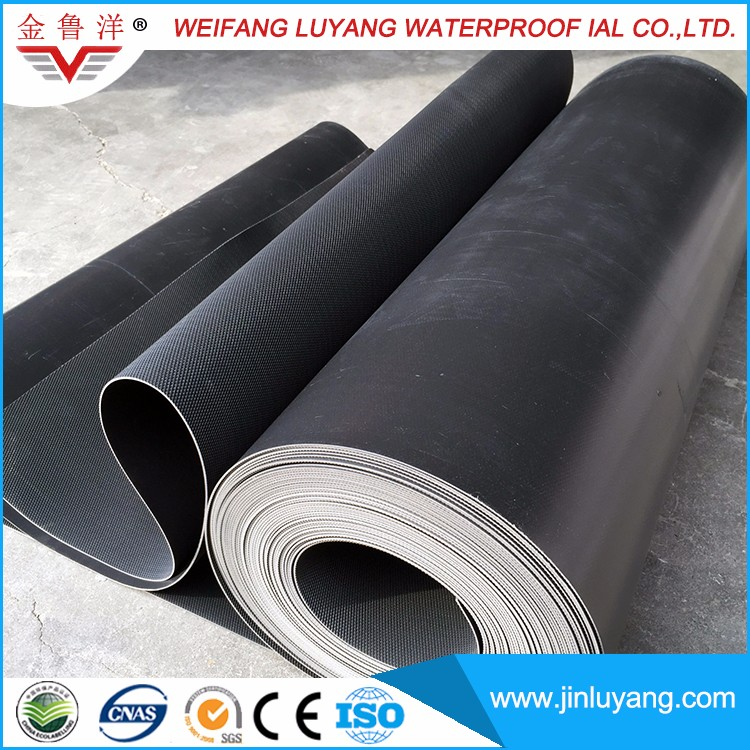 Epdm rubber roofing source cheap price epdm rubber for Cheap pond liner