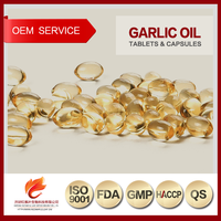 Wholesale Private Label Health Care Products Garlic Oil Softgel Capsules