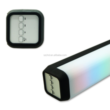 color changing Battery powered LED cube bluetooth speaker