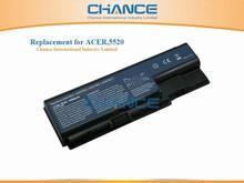 6 cells OEM laptop battery for Acer 5520 5220 5710 5920 6530 7520 7720 8730 8920 AS07B41