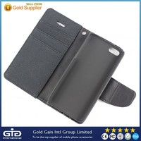 [NP-2292] Credit Card Flip PU + PC Case with Holder for Apple for iPhone 5S