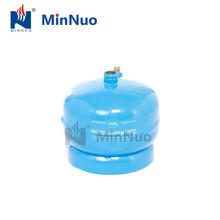 0.5kg compressed butane lpg gas tank