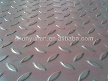 Hot sale carbon steel plate steel checkered sheet for industrial with factory price